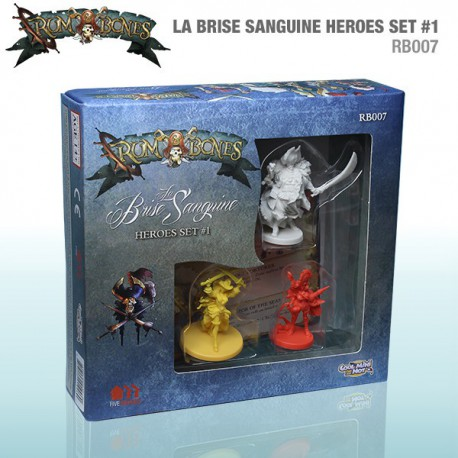 Rum & Bones: La Brise Hero Set No.1