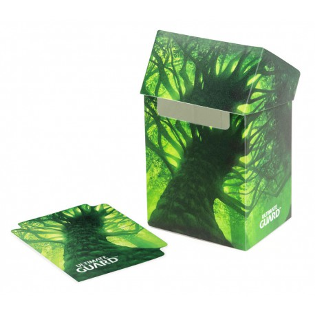 Ultimate Guard Basic Deck Case 80+ Standard Size Lands Edition Swamp I