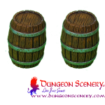 WOODEN BARRELS BIG