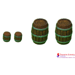 WOODEN BARRELS mix